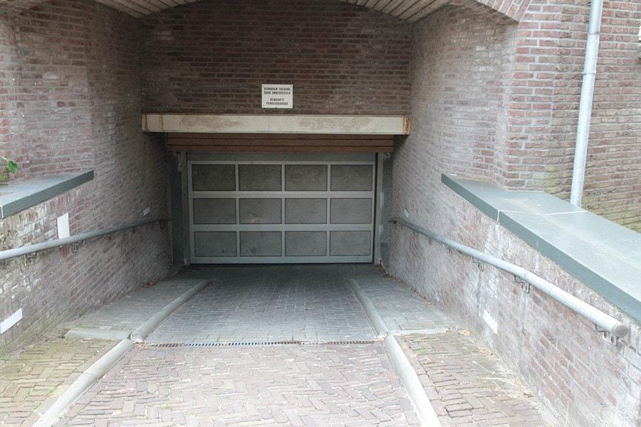 Ingang Parkeerplaats Prinsenplaats in Deventer