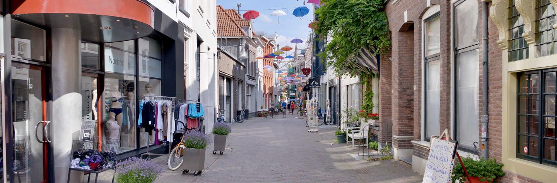 Winkelstraat in Deventer